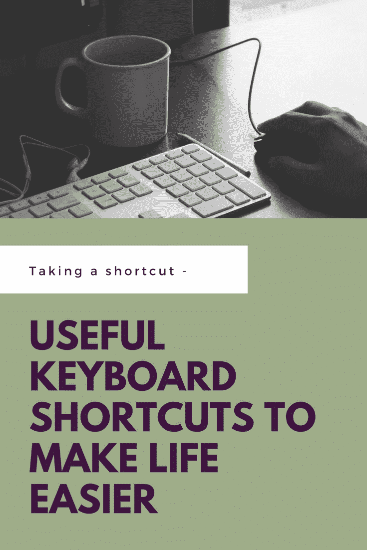 keyboard shortcuts | how to type faster | shortcuts for PC | shortcuts for Mac | educational technology